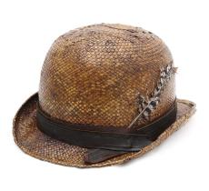 Move Roma Bloody Leather Top Hat
